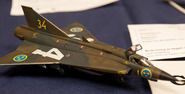 J35 Draken by Ingvar Sylegård
